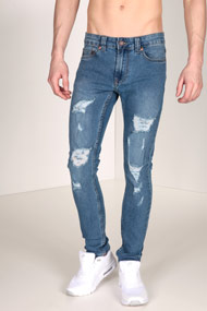 Only & Sons - Skinny Jeans L32 - Blue