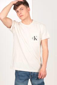 Calvin Klein - T-Shirt - Light Beige