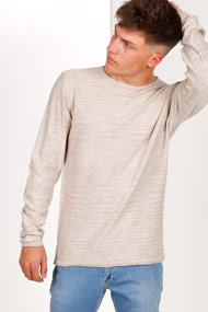 Only & Sons - Feinstrickpullover - Heather Beige