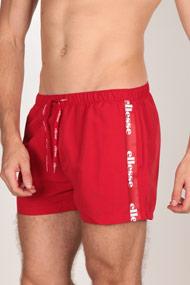 Ellesse - Badeshorts - Red + White