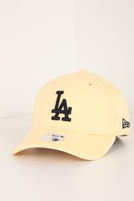New Era - 9Forty Cap / Strapback - Light Yellow + Dark Blue