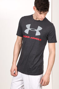 Under Armour - T-Shirt - Heather Anthracite