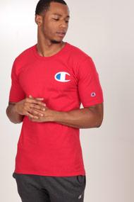 Champion - T-Shirt - Red + White + Blue