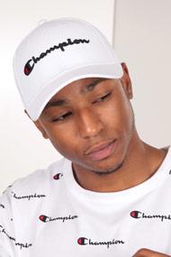 Champion - Strapback Cap - White