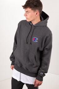Champion - Kapuzensweatshirt - Heather Dark Grey