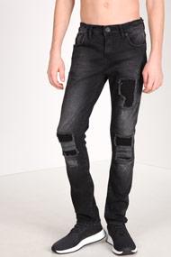 Denim Lab - Slim Fit Jeans - Black