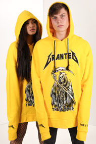 Granted - Oversize Sweatshirt - Yellow + Black