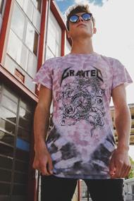 Granted - T-Shirt - Rose + Grey