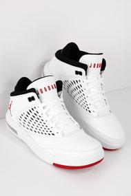 Jordan - Flight Origin Basketballschuhe - White + Red