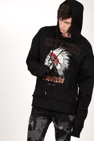 Sixth June - Sweatshirt à capuchon - Black + Multicolor
