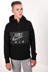 Nike - Sweatshirt - Black + Heather Grey