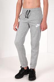 Nike - Pantalon en sweat - Heather Light Grey + White