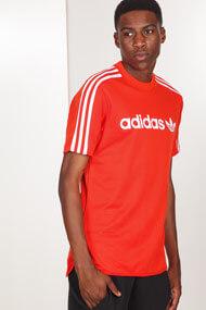 adidas Originals - T-Shirt - Red + White