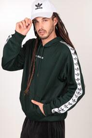 adidas Originals - Sweatshirt - Dark Green + White + Black