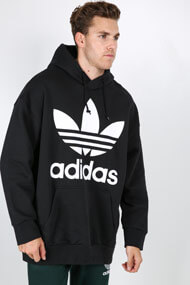 adidas Originals - Oversize Sweatshirt - Black + White