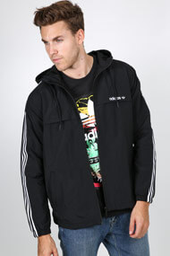 adidas Originals - Windjacke - Black + White