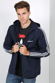 adidas Originals - Windjacke - Navy Blue + White