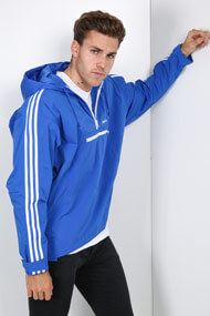 adidas Originals - Windjacke - Blue + White