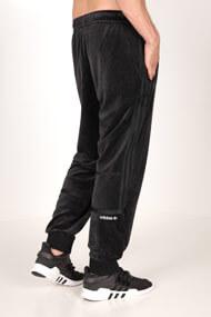 adidas Originals - Samt Hose - Black