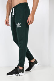 adidas Originals - Sweathose - Dark Green + White
