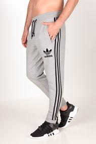 adidas Originals - Trainingshose - Heather Grey + Black