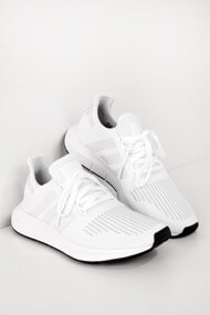 adidas Originals - Swift Run Sneaker low - White + Silver