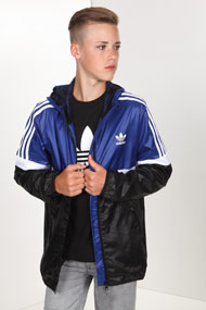 adidas Originals - Windjacke - Blue + Black + White