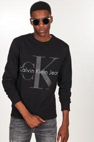 Calvin Klein - Sweatshirt - Black + Grey