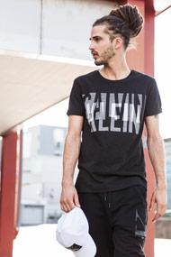 Calvin Klein - T-Shirt - Black + White