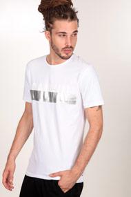 Calvin Klein - T-Shirt - White + Silver