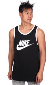 Nike - Tanktop - Black + White
