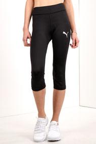 Puma - Leggings de sport 3/4 - Black + White