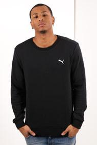 Puma - Sweatshirt - Black + White