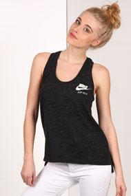 Nike - Tanktop - Heather Black
