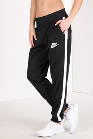Nike - Pantalon de jogging - Black + White
