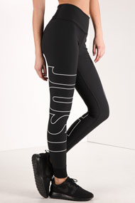 Nike - Leggings de sport - Black + White