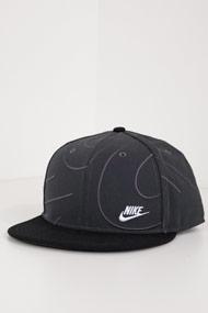 Nike - Snapback Cap - Dark Grey + Black