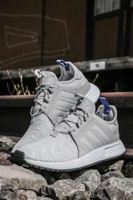 adidas Originals - X_PLR Sneaker low - Heather Light Grey + Blue