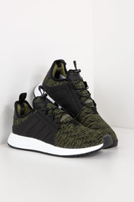 adidas Originals - X_PLR Sneaker low - Heather Olive Green + Black