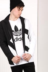 Adidas Originals - Veste de jogging - Black + White