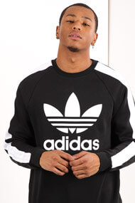 adidas Originals - Sweatshirt - Black + White