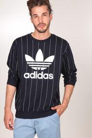 adidas Originals - Sweatshirt - Navy Blue + White