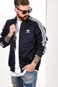 Adidas Originals - Veste de jogging - Navy Blue + White