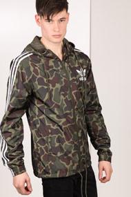 Adidas Originals - Windjacke - Camouflage + White