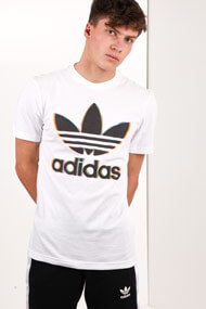 Adidas Originals - T-Shirt - White + Multicolor