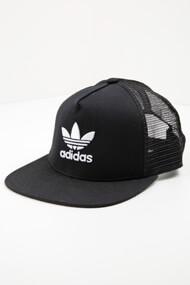 Adidas Originals - Casquette trucker / snapback - Black + White
