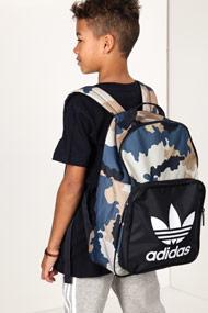 Adidas Originals - Sac à dos - Camouflage + Dark Navy Blue