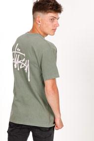 Stussy - T-Shirt - Olive Green