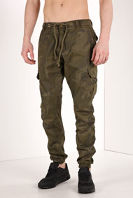 Urban Classics - Jogger Pant - Camouflage Green