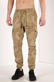 Urban Classics - Jogger Pant - Camouflage + Beige